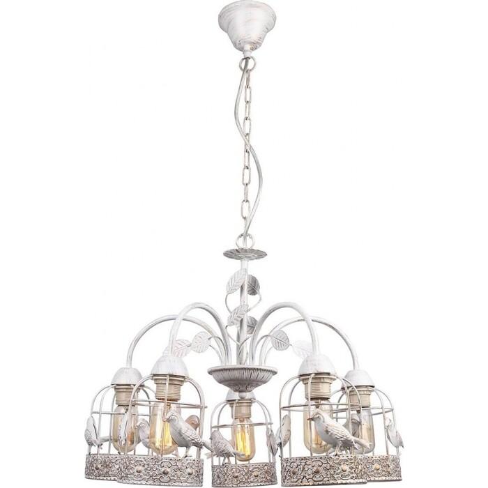Фото - Подвесная люстра Arte Lamp A5090LM-5WG подвесная люстра arte lamp a6114lm 5wg