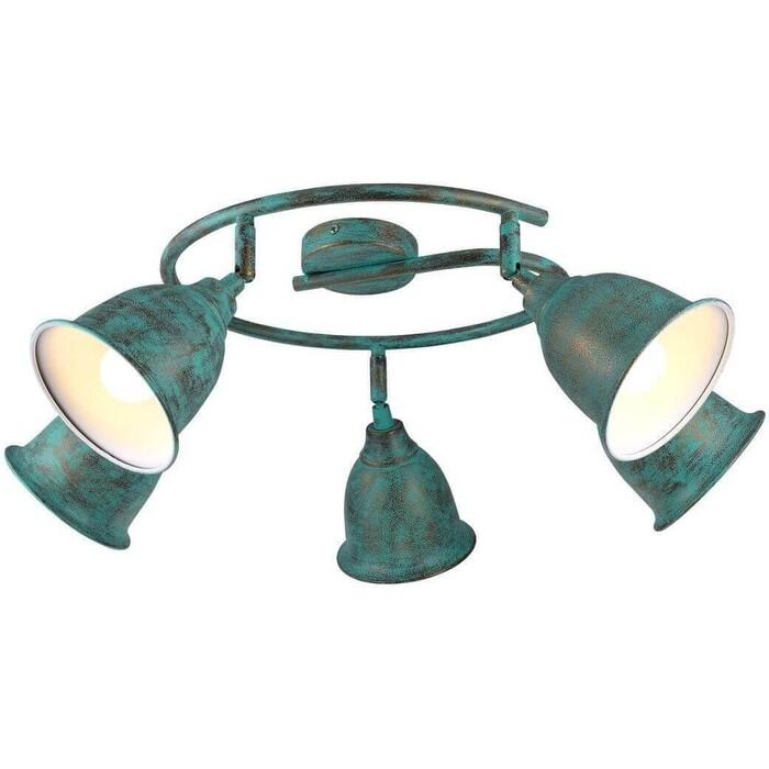 Спот Arte Lamp A9557PL-5BG