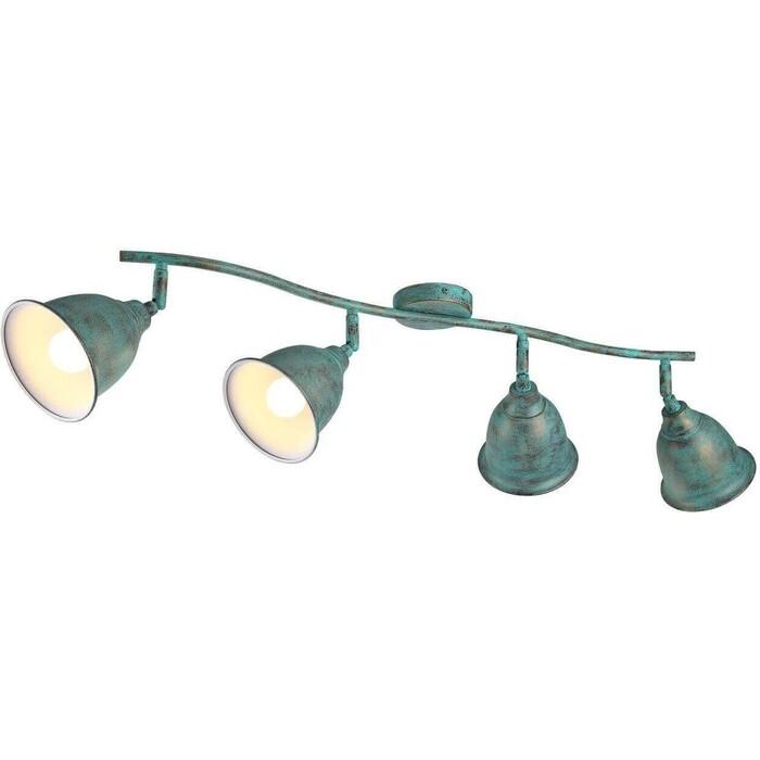 Спот Arte Lamp A9557PL-4BG