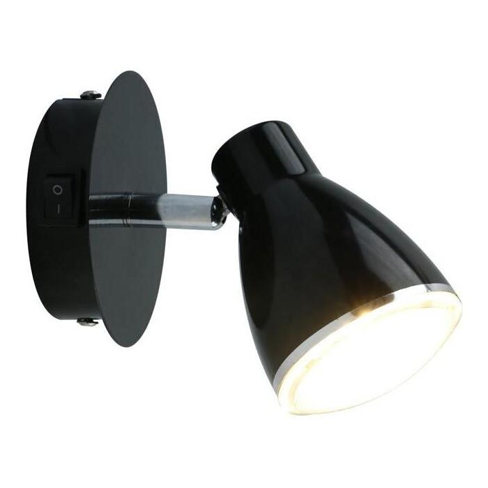 Светодиодный спот Arte Lamp A6008AP-1BK светодиодный спот arte lamp a7717pl 1bk