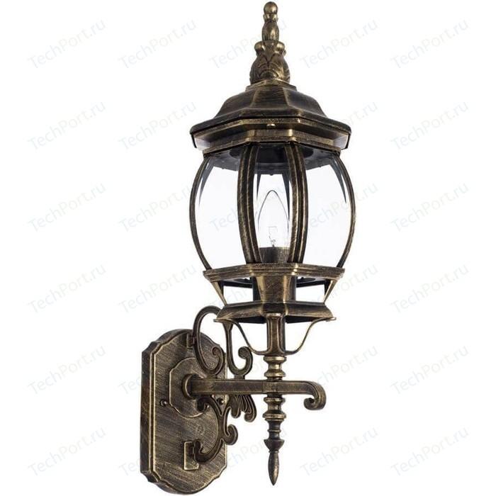 Фото - Уличный настенный светильник Arte Lamp A1041AL-1BN arte lamp уличный светильник berlin a1014fn 1bn