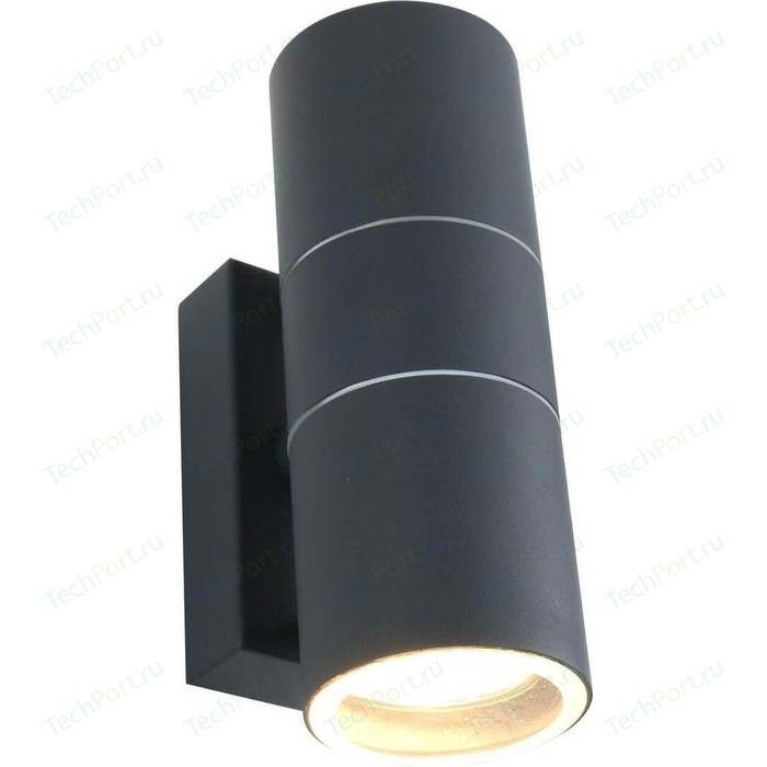 Уличный настенный светильник Arte Lamp A3302AL-2GY