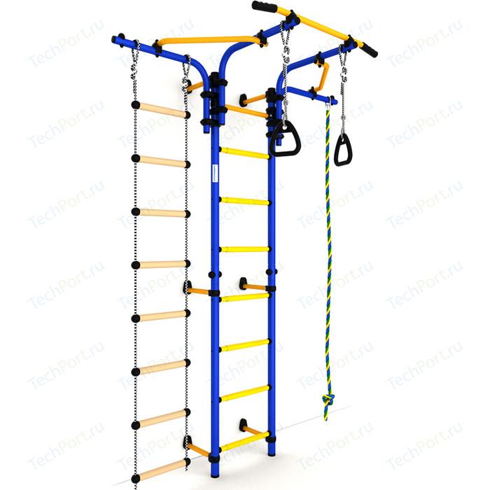 Детский спортивный комплекс Romana S5 (ДСКМ-2С-8.06.Т1.410.01-14) сине/жёлтый