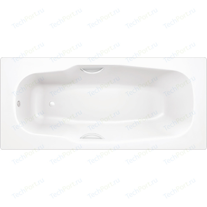 Ванна стальная BLB Atlantica 180х80 см 2.3 мм с отверстиями для ручек (B80AS2001) стальная ванна 180х80 см blb atlantica b80a