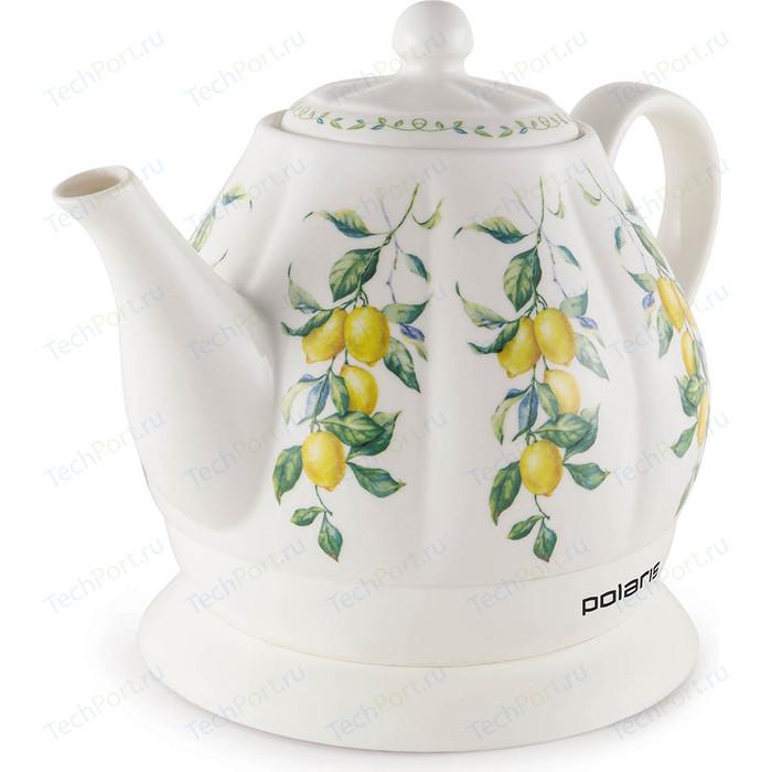 Чайник электрический Polaris PWK 1287CC чайник электрический polaris pwk 1864ca 1800вт серебристый