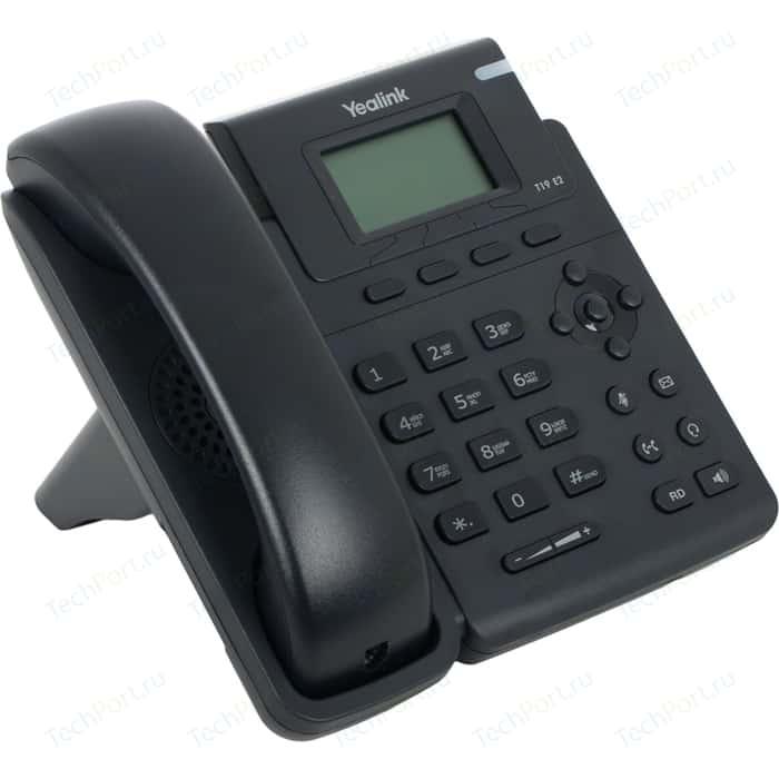 VoIP-телефон Yealink SIP-T19 E2 sip телефон yealink sip t40p