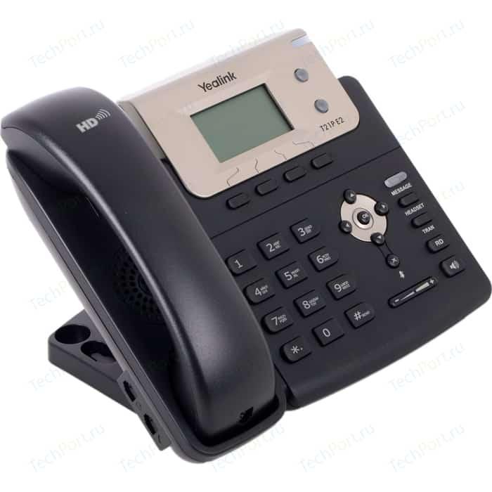 VoIP-телефон Yealink SIP-T21P E2 sip телефон yealink sip t21 e2