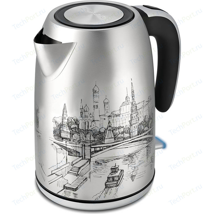 Чайник электрический Polaris PWK 1856CA чайник электрический polaris pwk 1864ca 1800вт бордовый