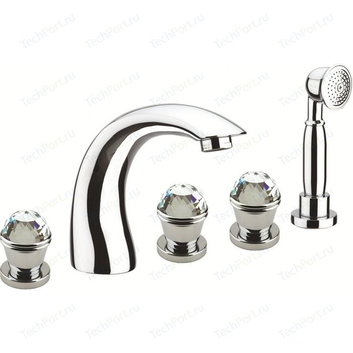 Смеситель на борт ванны Fiore XT-SKY хром (17CR0507) смеситель для раковины fiore xt sky хром 17cr0625