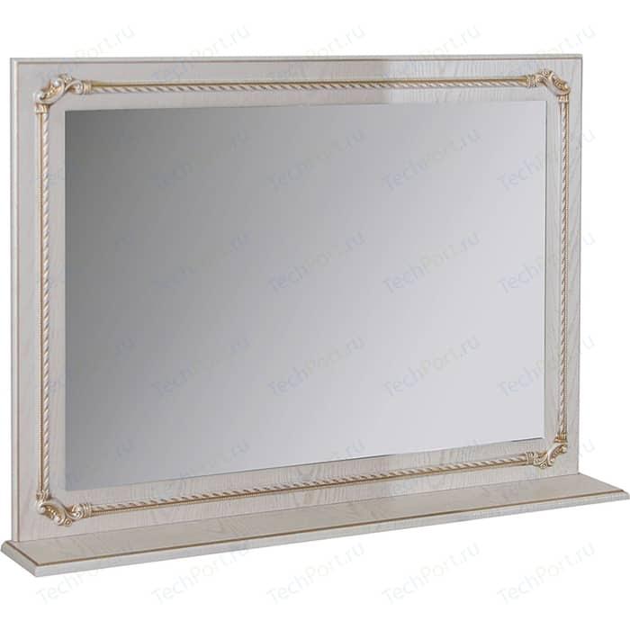 Зеркало с полкой Mixline Сальери 95 патина золото (2180805274863) шкаф пенал mixline сальери 35 l 534731 патина золото