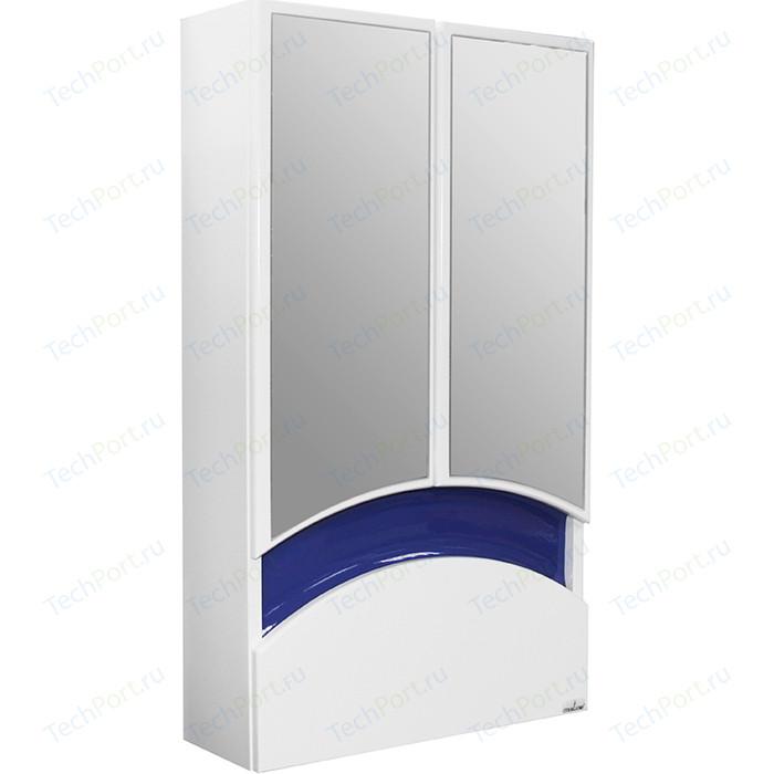 Зеркальный шкаф Mixline Радуга 46 синий (2070505229518)