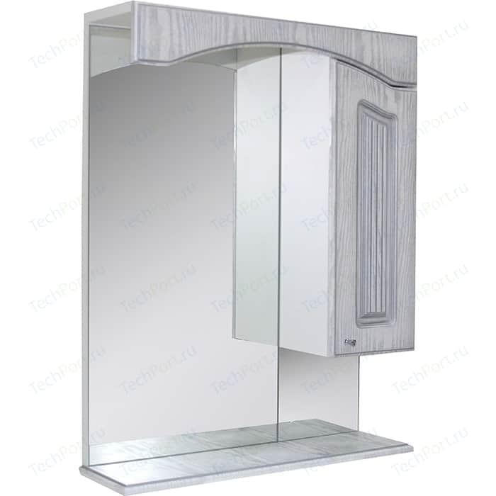 Зеркало-шкаф Mixline Крит 60 патина серебро (2121205217920)