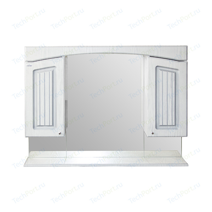 Зеркало-шкаф Mixline Крит 105 патина серебро (2405175331283)