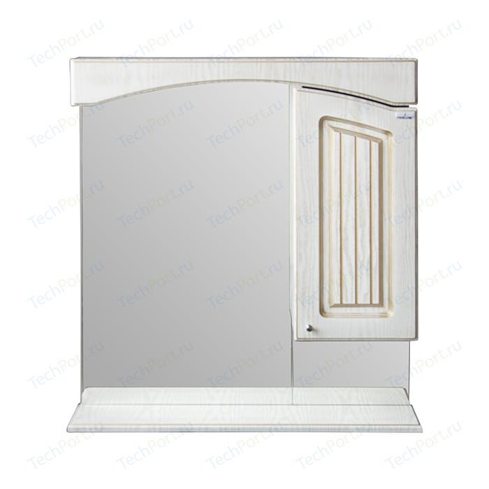 Зеркало-шкаф Mixline Крит 75 патина золото (2405175331337)