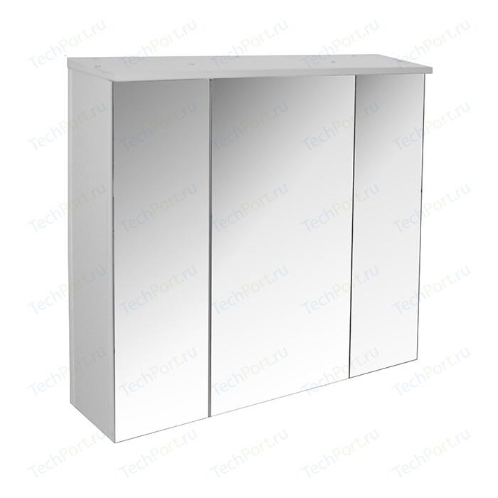 Зеркальный шкаф Mixline Неаполь 75 белый (2100905122116)