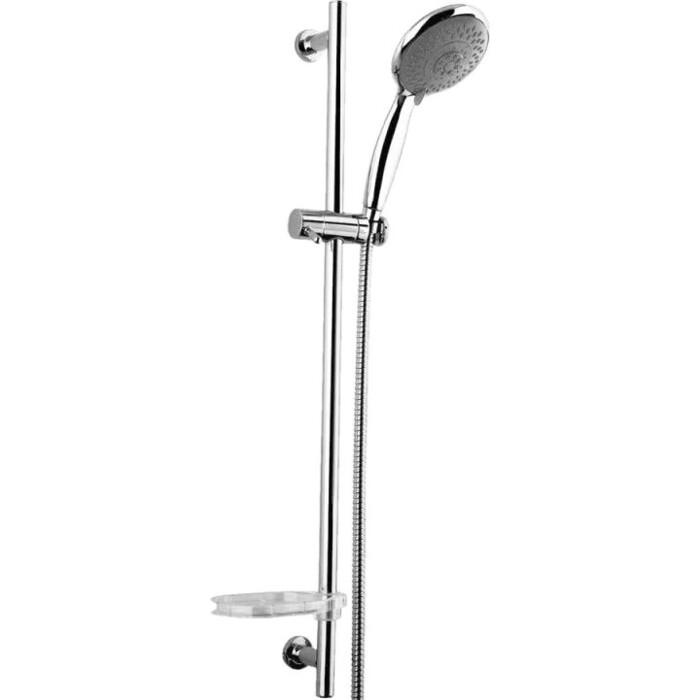Душевой гарнитур IDDIS Shower Set с мыльницей, хром (TSH0601)