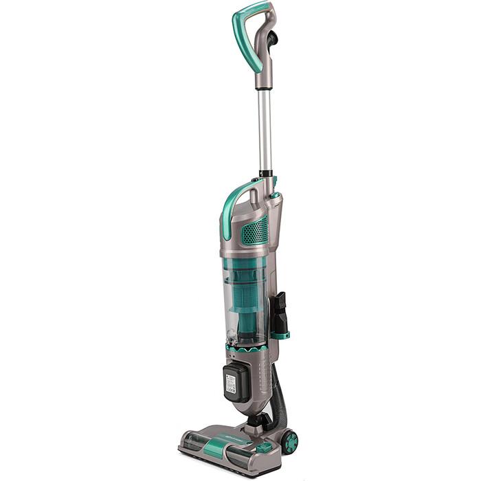 Вертикальный пылесос KITFORT KT-521-3 зеленый/серый