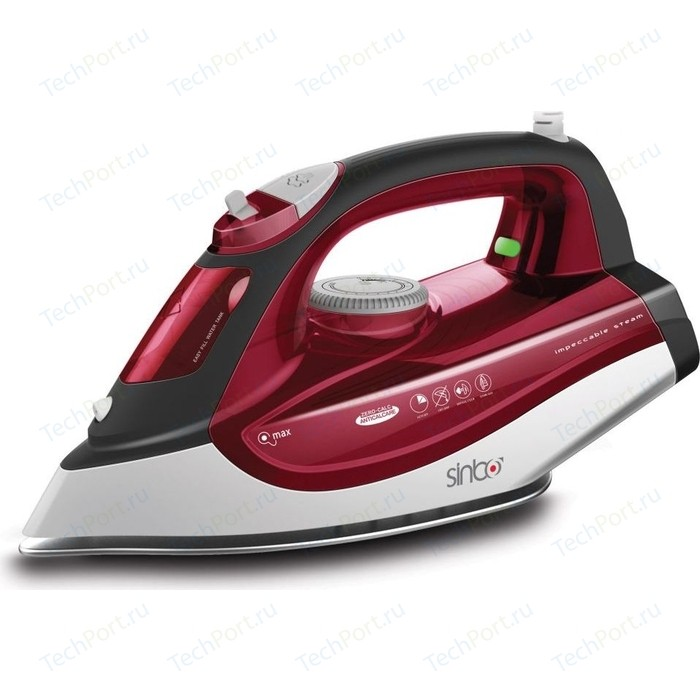 Утюг Sinbo SSI 6611 красный/белый утюг sinbo ssi 6615 2200вт красный