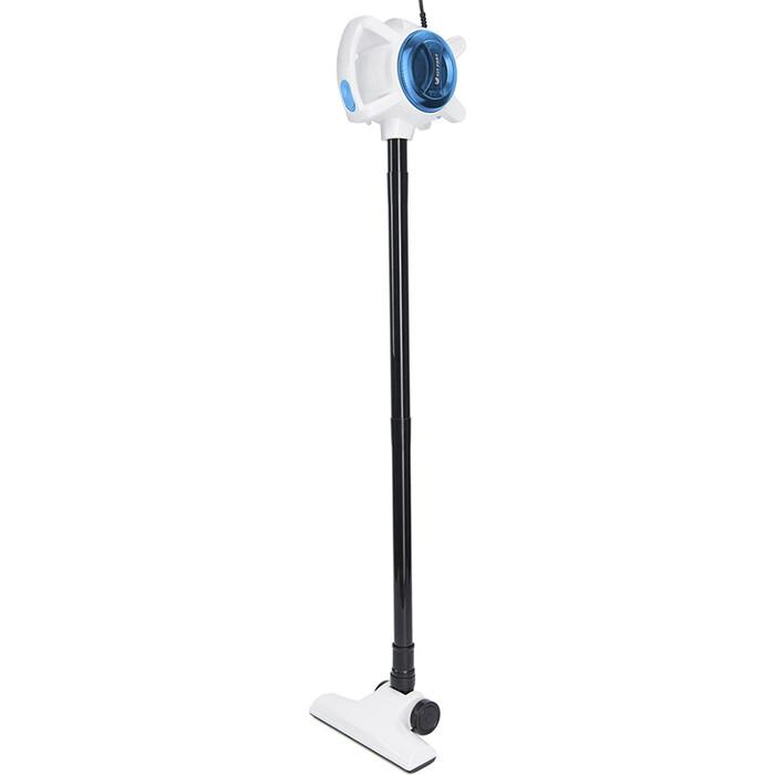 Вертикальный пылесос KITFORT KT-526-1 синий/белый пылесос вертикальный kitfort kt 541 1