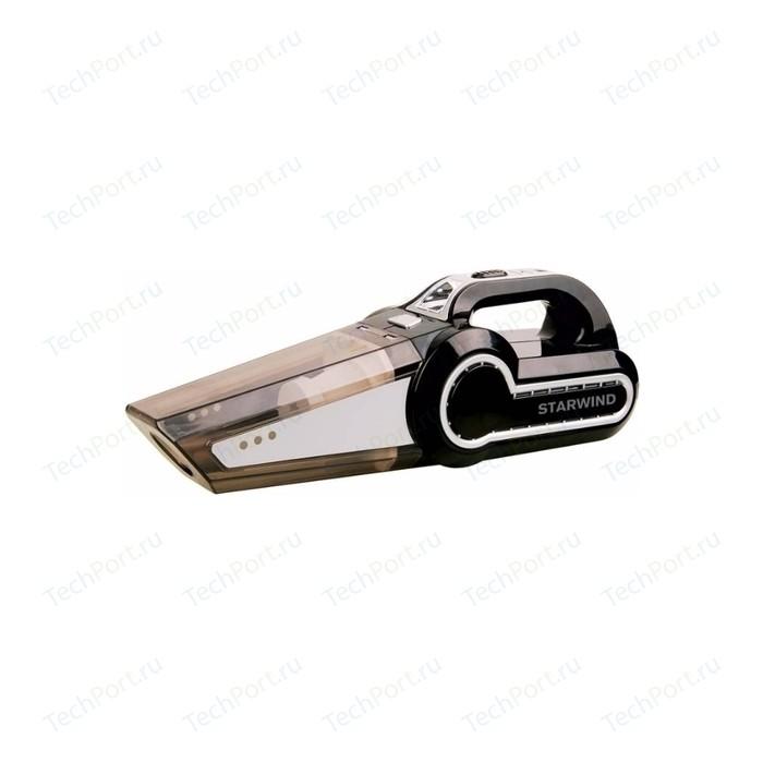 Ручной пылесос StarWind CV-130 черный автопылесос starwind cv 100