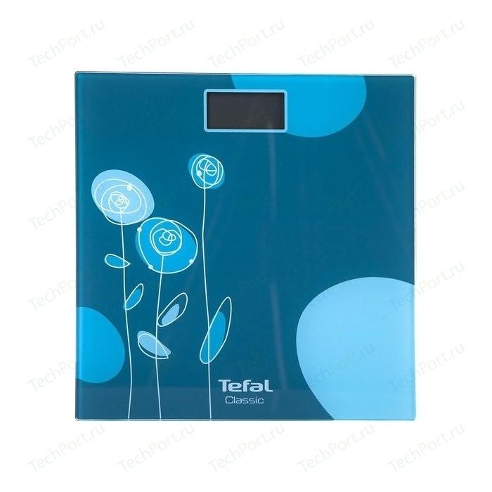 Весы напольные Tefal PP1148V0 бирюзовый весы напольные tefal premio ivy pp1221 фиолетовый