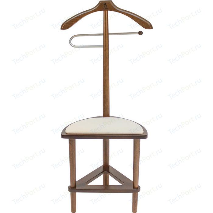 Вешалка со стулом Мебель Импэкс Leset Атланта орех пуф мебель импэкс leset бегемот мини темно коричневый