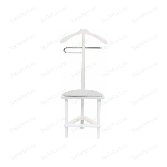 Вешалка со стулом Мебель Импэкс Leset Атланта белый