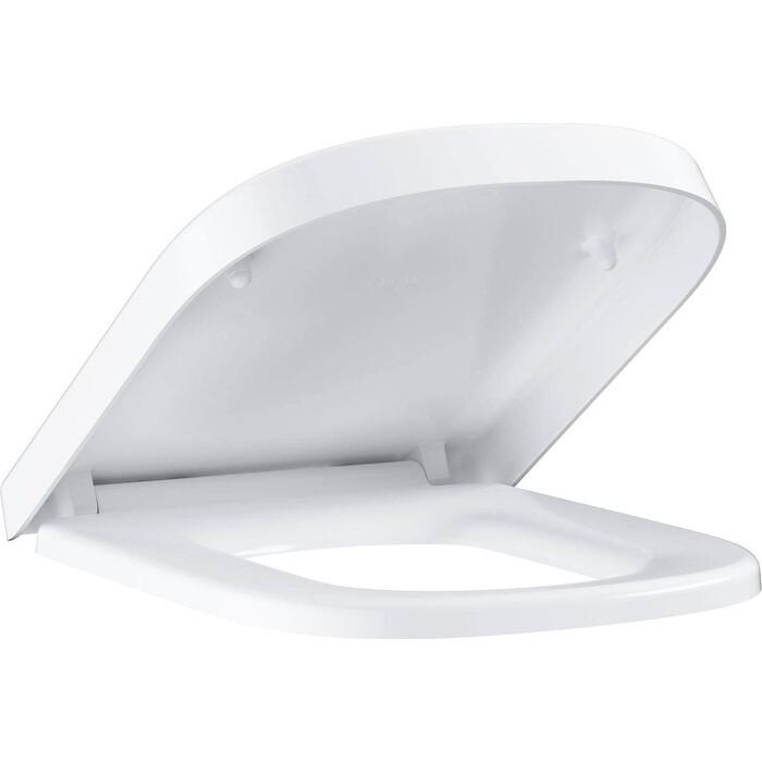 Сиденье для унитаза Grohe Euro Ceramic с микролифтом, быстросъемное (39330001)