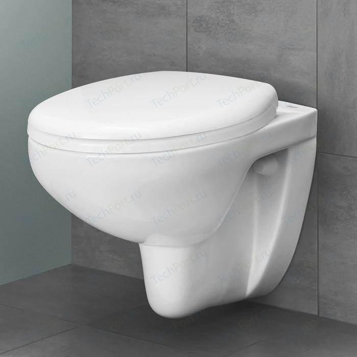 Унитаз подвесной Grohe Bau Ceramic с сиденьем микролифт (39427000, 39493000)