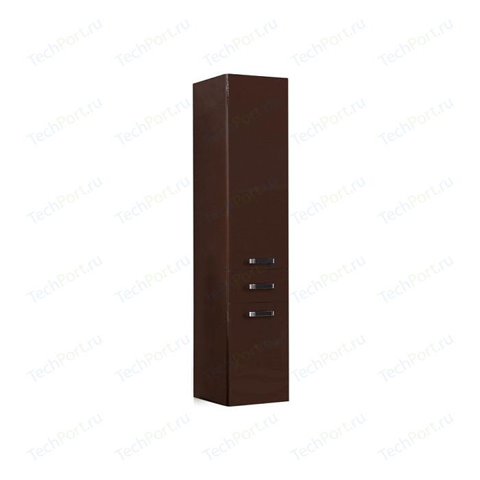 Пенал Акватон Америна подвесной темно-коричневая (1A135203AM430)