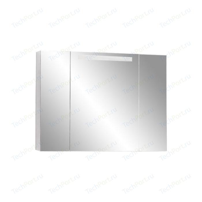 Зеркальный шкаф Акватон Мадрид 100 со светильником (1A111602MA010)