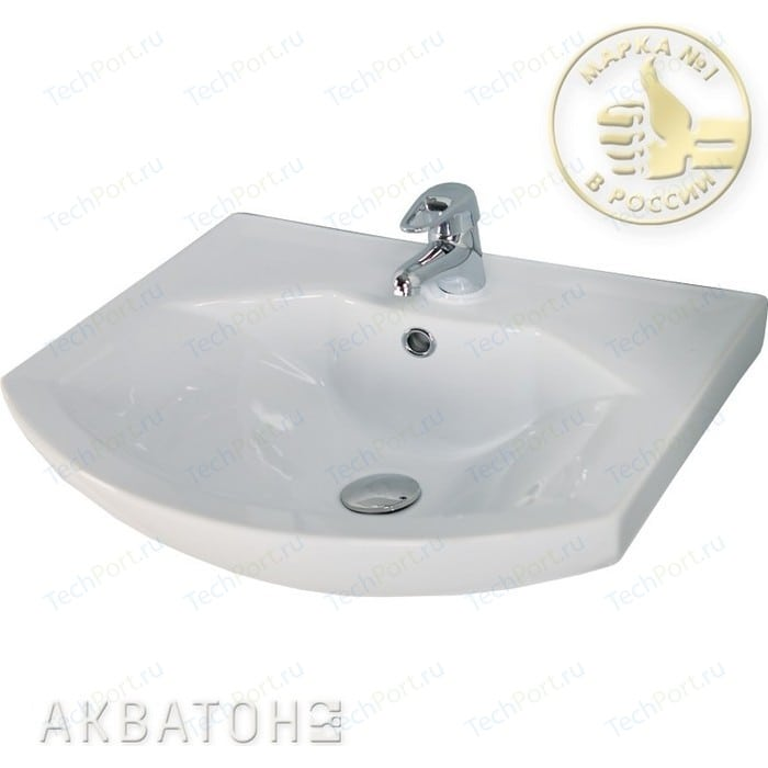 Раковина мебельная Акватон Santek Смайл 65 (1WH207782)