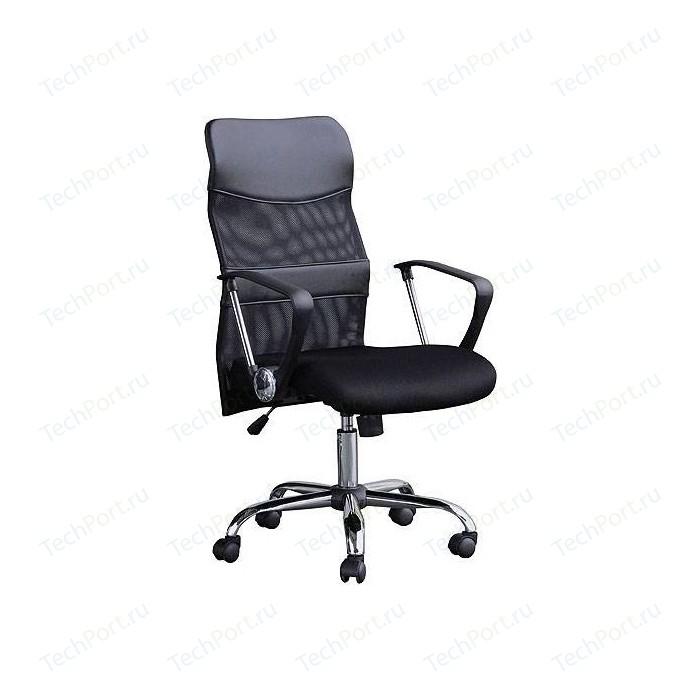 Кресло Хорошие кресла GK-1111 экокожа/сетка black