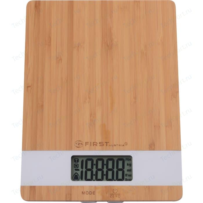 Весы кухонные FIRST FA-6410 White