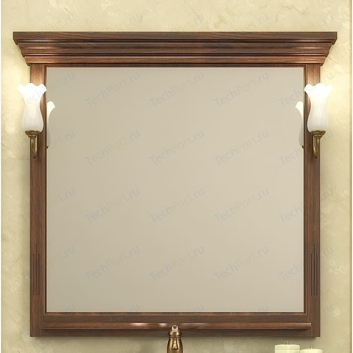 Зеркало Opadiris Риспекто 95 для светильников 00000001041, Z0000001408, нагал P46 (Z0000004918) зеркало в деревянной раме opadiris клио 65 антикварный орех для светильников 00000001041 z0000001408 z0000004272