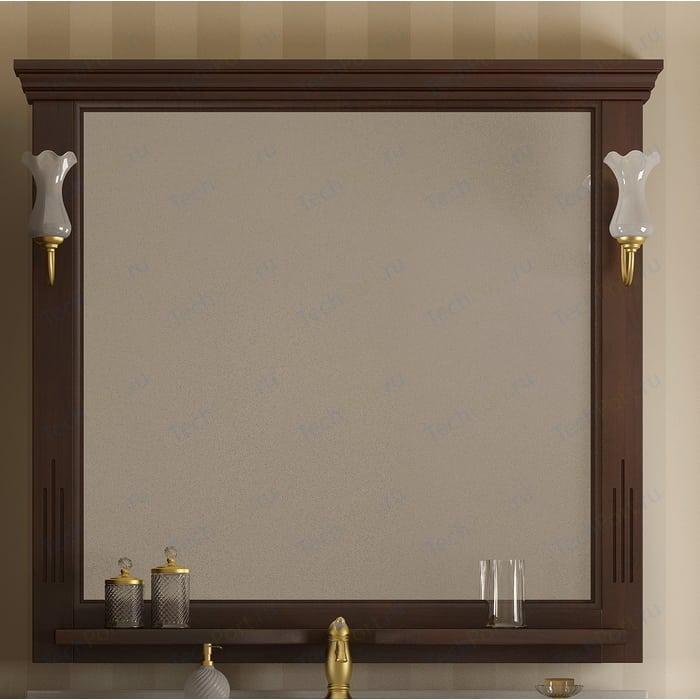 Зеркало Opadiris Риспекто 105 для светильников 00000001041, Z0000001408, нагал P46 (Z0000000694) зеркало в деревянной раме opadiris клио 65 антикварный орех для светильников 00000001041 z0000001408 z0000004272