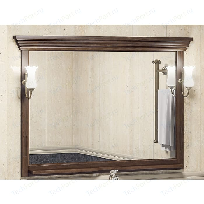 Зеркало Opadiris Риспекто 120 для светильников 00000001041, Z0000001408, нагал P46 (Z0000009576) зеркало в деревянной раме opadiris клио 65 антикварный орех для светильников 00000001041 z0000001408 z0000004272