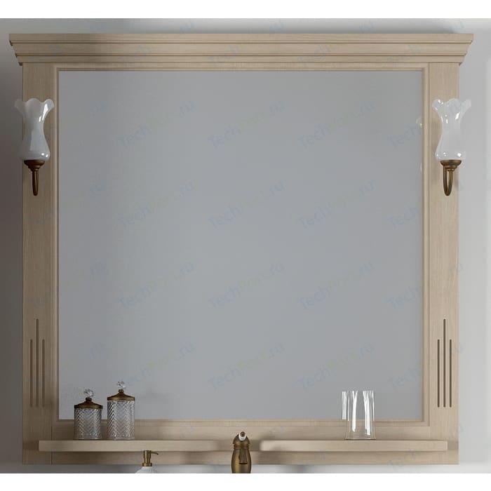 Зеркало Opadiris Риспекто 105 для светильников 00000001041, Z0000001408, слоновая кость 1013 (Z0000006704) зеркало в деревянной раме opadiris клио 65 антикварный орех для светильников 00000001041 z0000001408 z0000004272