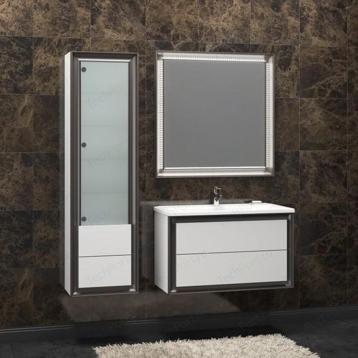 Мебель для ванной Opadiris Капри 80 белый глянцевый/нагал P46