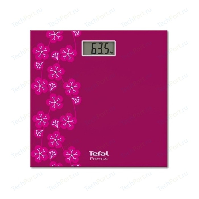 Весы напольные Tefal PP 1073V0 весы tefal pp 1063v0