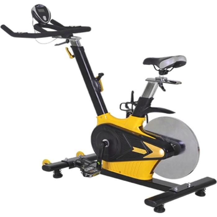 Велотренажер DFC B10 черно-желтый