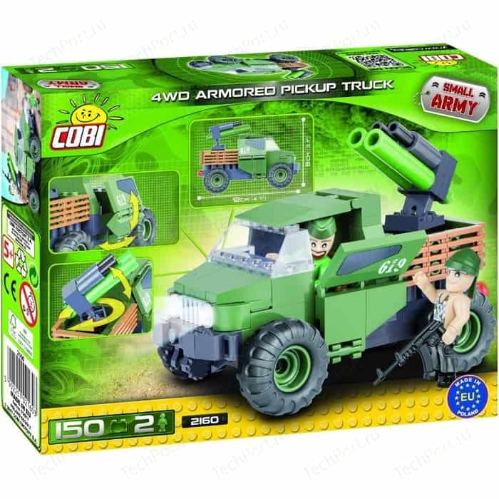 Конструктор COBI Армейский пикап Armored Pickup Truck 4WD - COBI-2160