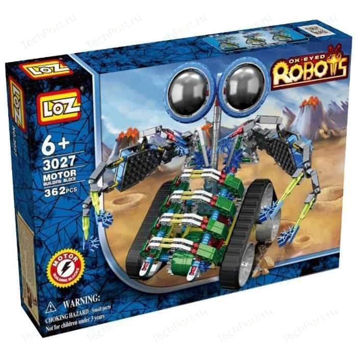Конструктор LOZ робот-Турбо, 362 детали - LOZ-3027