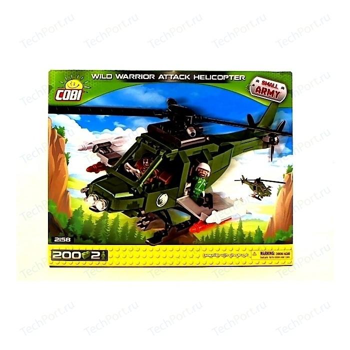 Конструктор COBI Пластиковый Вертолет Wild warrior attack helicopter - COBI-2158