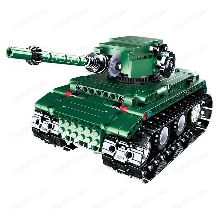 Конструктор Double E Cada Technics Радиоуправляемый танк/бронемашина 2 в 1 2.4G - C61001W