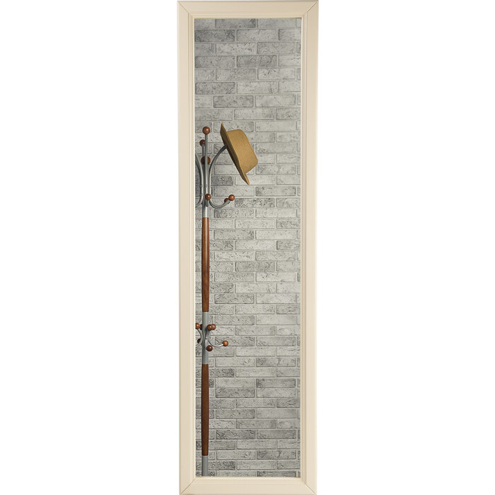 цена на Зеркало Мебелик Селена слоновая кость настенное