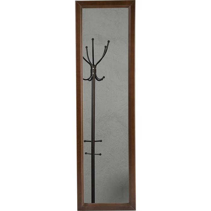 Зеркало Мебелик Селена средне-коричневый настенное