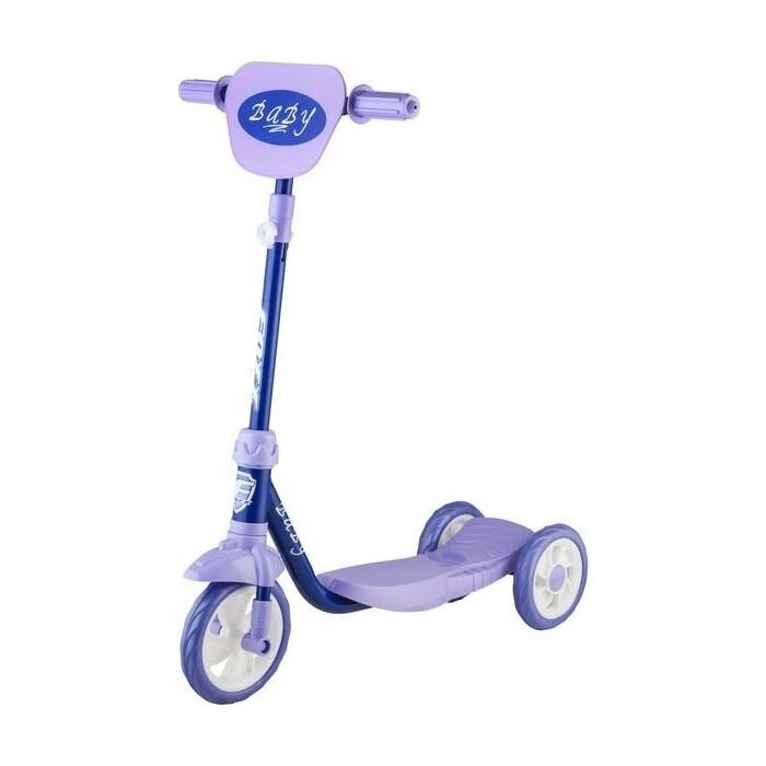 Самокат 2-х колесный FOXX городской Baby с пластиковой платформой и EVA колесами 115мм ультрама