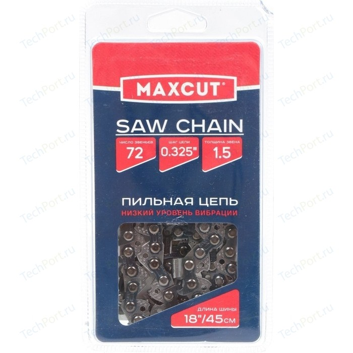 Цепь пильная MaxCut 0,325 1.5мм 72 звена 21LV-72E (86321072)