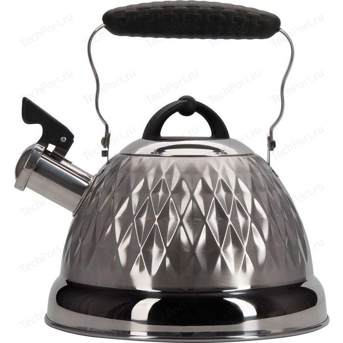 Чайник 2.4 л со свистком Regent Promo (94-1504)